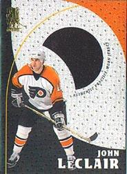 1998-99 Be A Player Playoff Practice Used Jerseys #P13 John LeClair