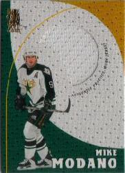 1998-99 Be A Player Playoff Practice Used Jerseys #P14 Mike Modano