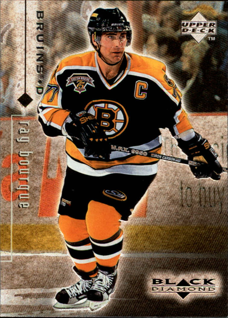 1998-99 Black Diamond #4 Ray Bourque