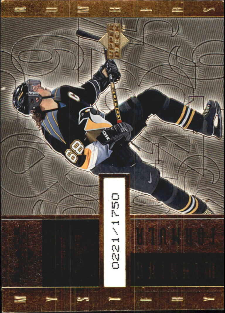 1998-99 Black Diamond Winning Formula Gold #WF25 Jaromir Jagr/1750
