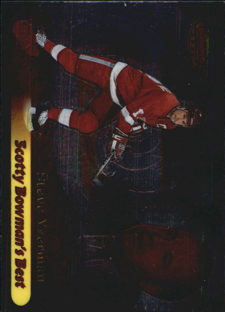 1998-99 Bowman's Best Scotty Bowman's Best #SB7 Steve Yzerman