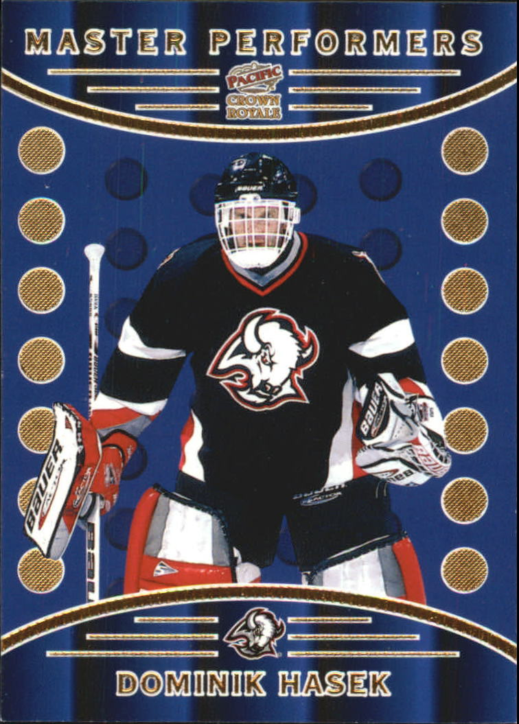 1998-99 Crown Royale Master Performers #3 Dominik Hasek