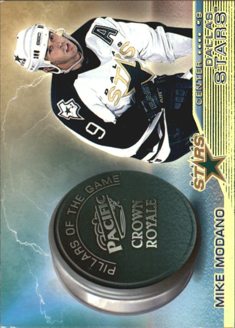 1998-99 Crown Royale Pillars of the Game #11 Mike Modano