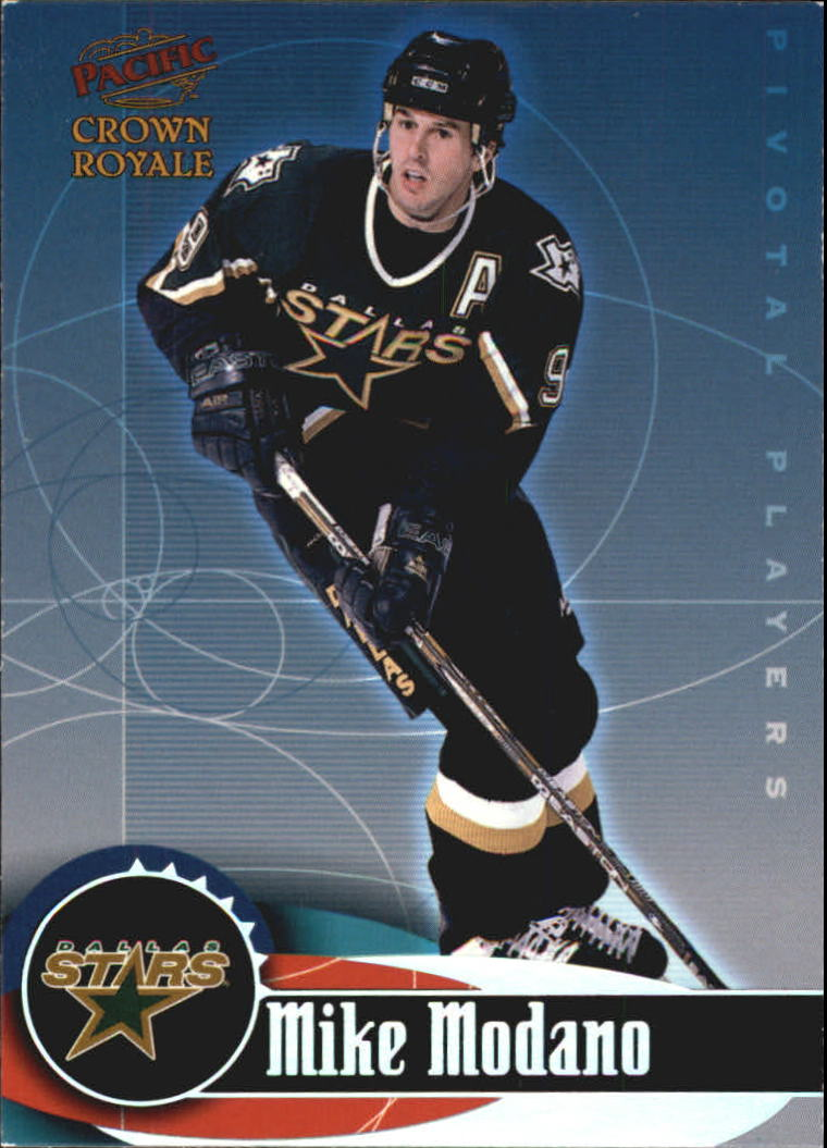 1998-99 Crown Royale Pivotal Players #7 Mike Modano