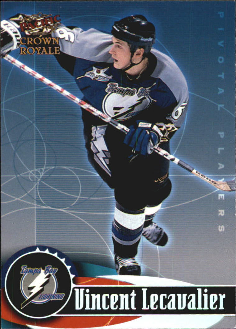 1998-99 Crown Royale Pivotal Players #21 Vincent Lecavalier