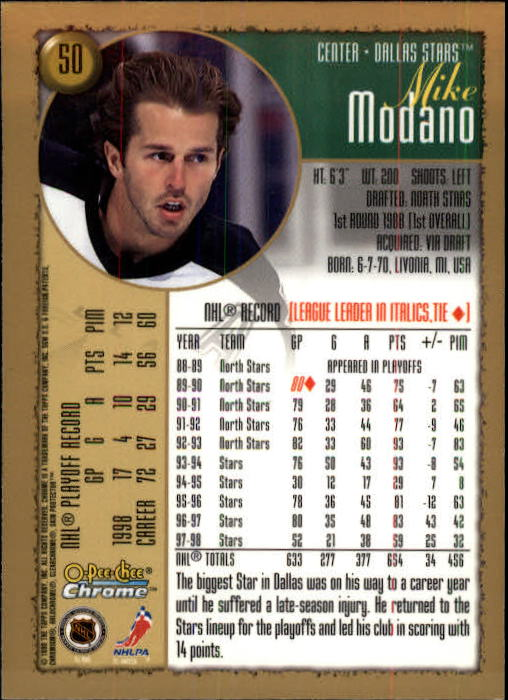 1998-99-OPC-O-Pee-Chee-Chrome-Hockey-Cards-Pick-From-List miniature 61