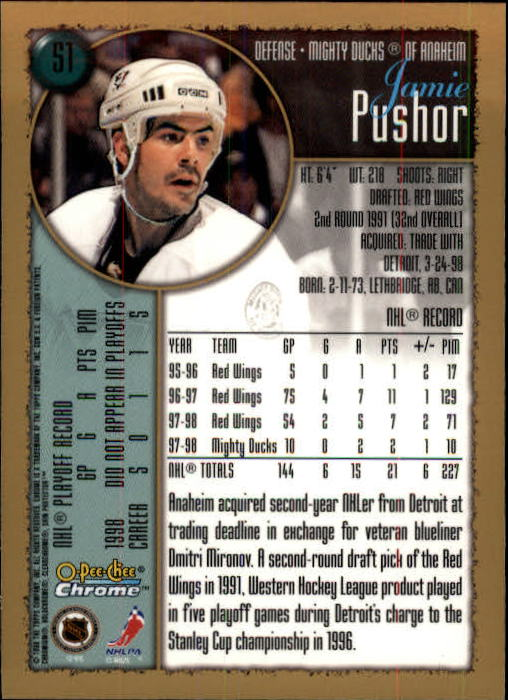 1998-99-OPC-O-Pee-Chee-Chrome-Hockey-Cards-Pick-From-List miniature 63