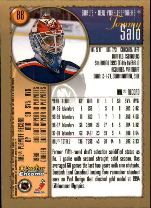 1998-99-OPC-O-Pee-Chee-Chrome-Hockey-Cards-Pick-From-List miniature 117