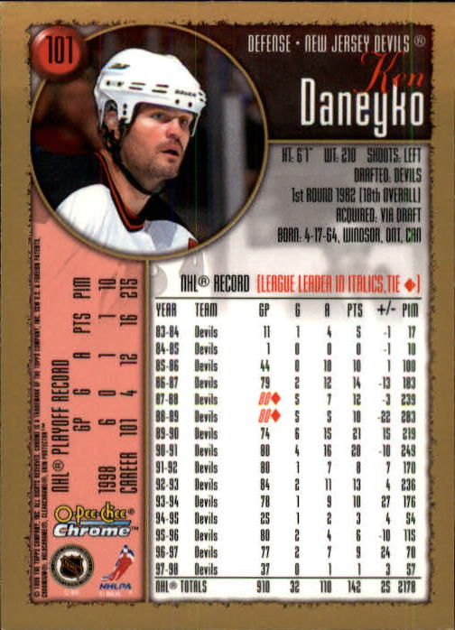 1998-99-OPC-O-Pee-Chee-Chrome-Hockey-Cards-Pick-From-List miniature 139