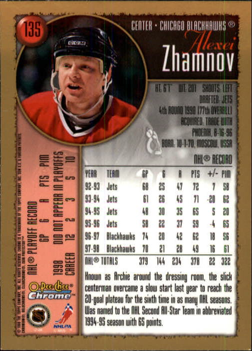 1998-99-OPC-O-Pee-Chee-Chrome-Hockey-Cards-Pick-From-List miniature 181