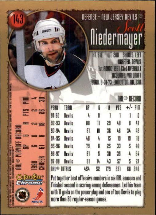1998-99-OPC-O-Pee-Chee-Chrome-Hockey-Cards-Pick-From-List miniature 195