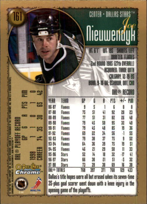 1998-99-OPC-O-Pee-Chee-Chrome-Hockey-Cards-Pick-From-List miniature 215