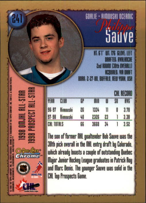 1998-99-OPC-O-Pee-Chee-Chrome-Hockey-Cards-Pick-From-List miniature 333