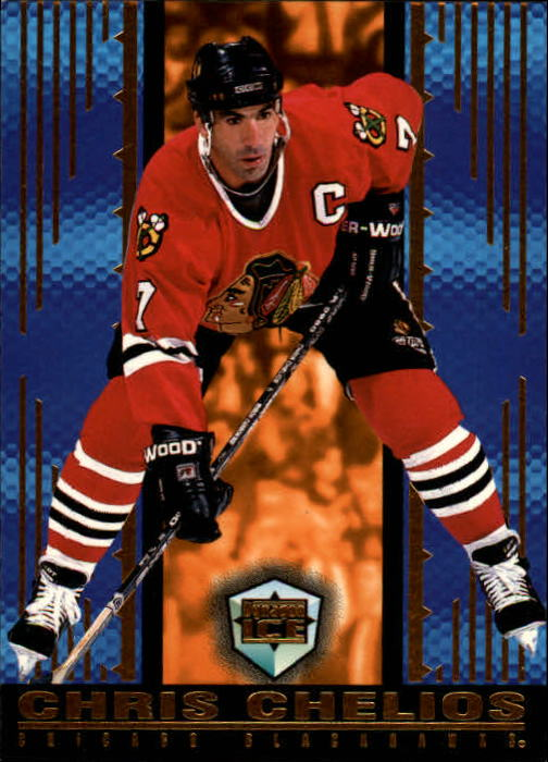 1998-99 Pacific Dynagon Ice #39 Chris Chelios