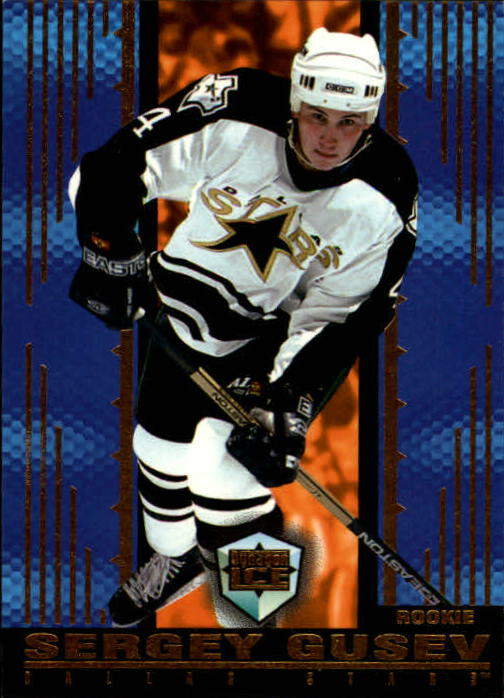 1998-99 Pacific Dynagon Ice #54 Sergey Gusev RC