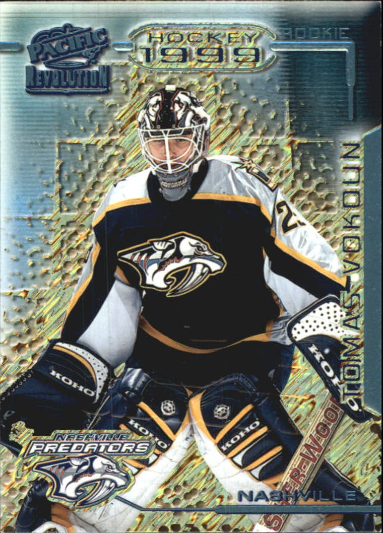 1998-99 Revolution Ice Shadow #81 Tomas Vokoun