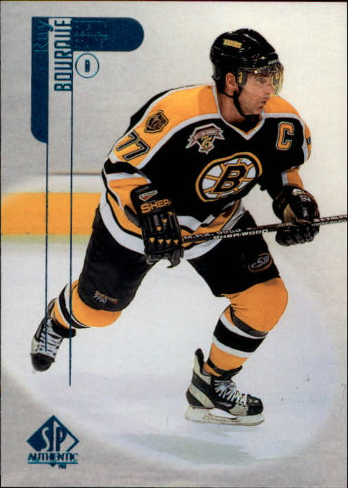 1998-99 SP Authentic #7 Ray Bourque