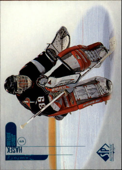 1998-99 SP Authentic #8 Dominik Hasek