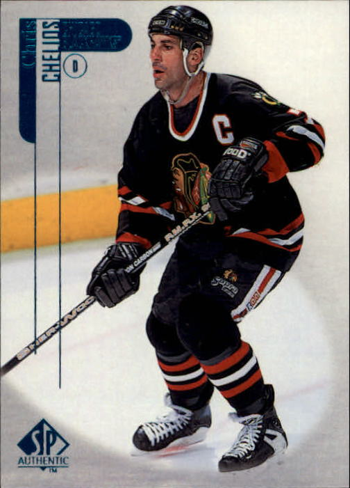 1998-99 SP Authentic #19 Chris Chelios