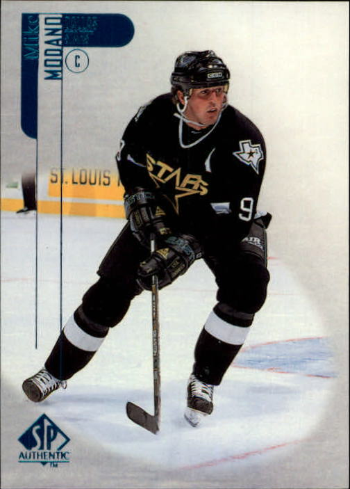 1998-99 SP Authentic #25 Mike Modano
