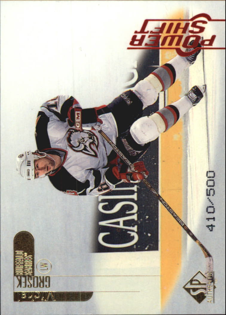 1998-99 SP Authentic Power Shift #10 Michal Grosek