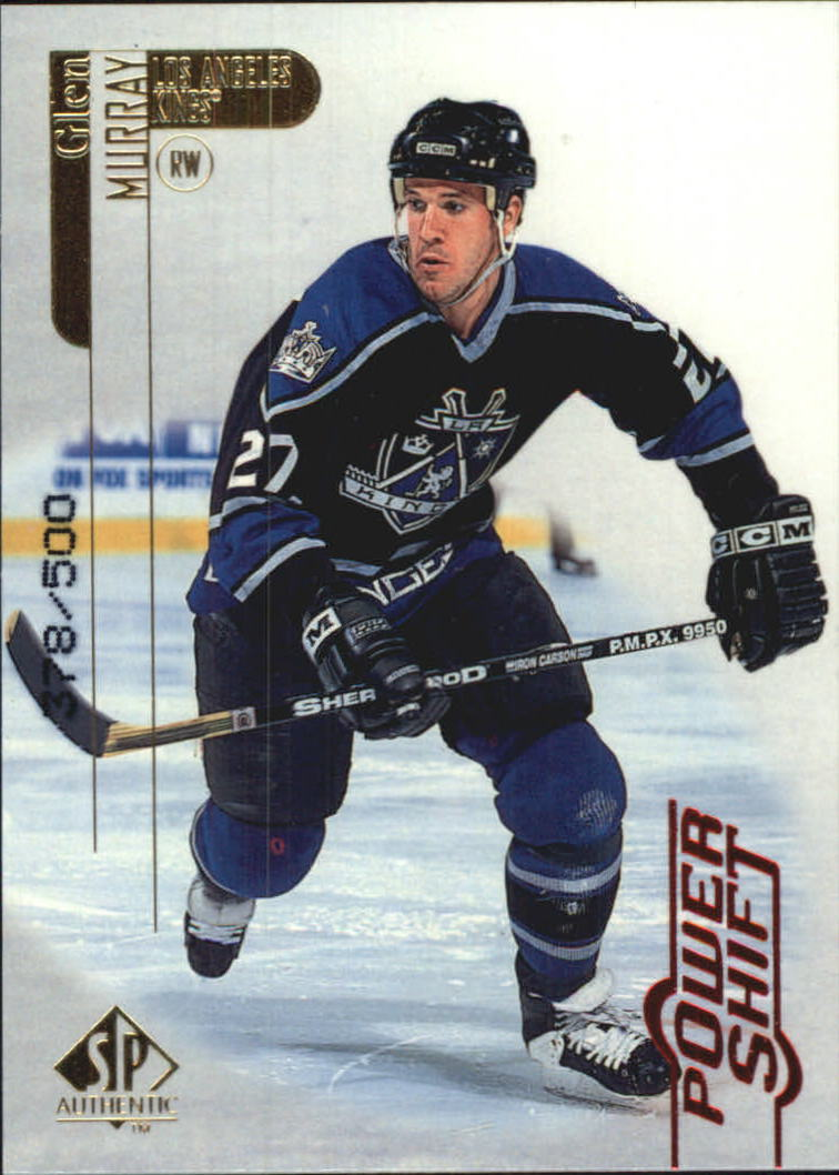 1998-99 SP Authentic Power Shift #40 Glen Murray