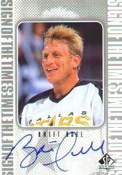 1998-99 SP Authentic Sign of the Times #BH Brett Hull