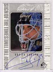1998-99 SP Authentic Sign of the Times #CJ Curtis Joseph