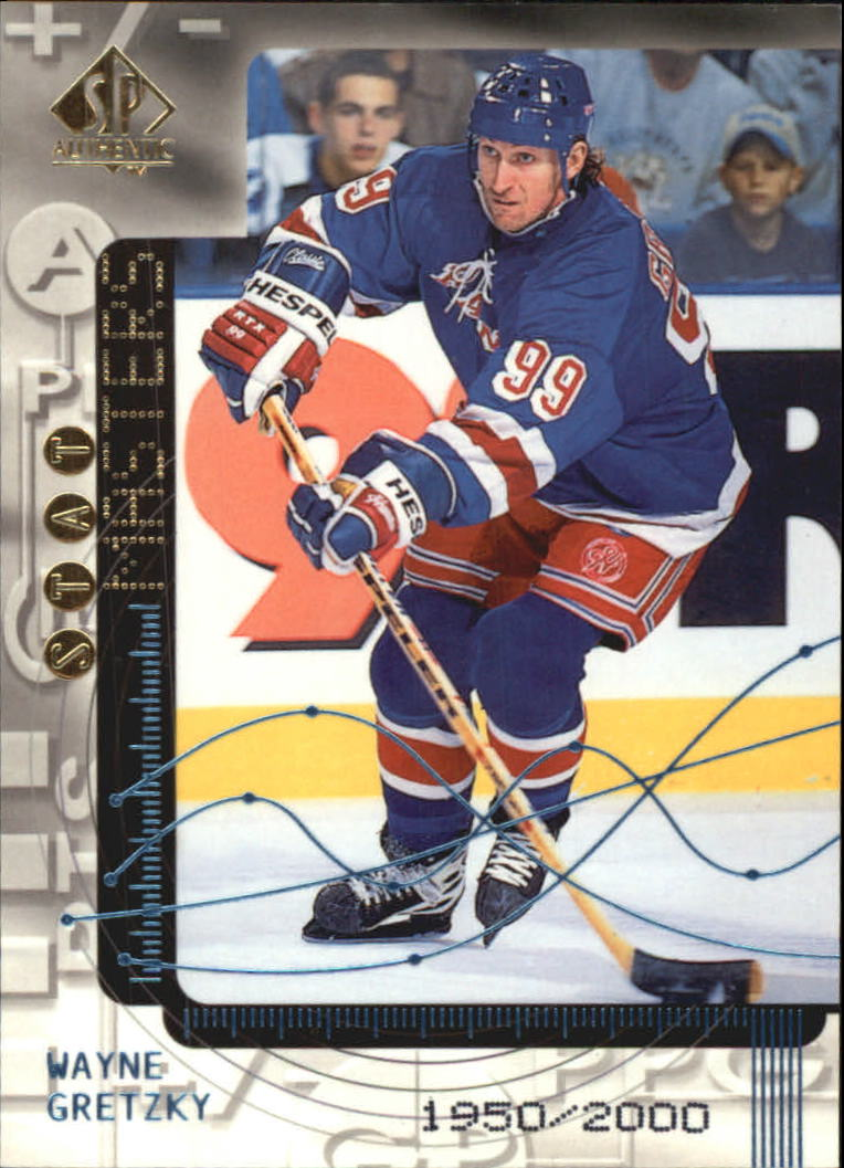 1998-99 SP Authentic Stat Masters #S30 Wayne Gretzky/2000