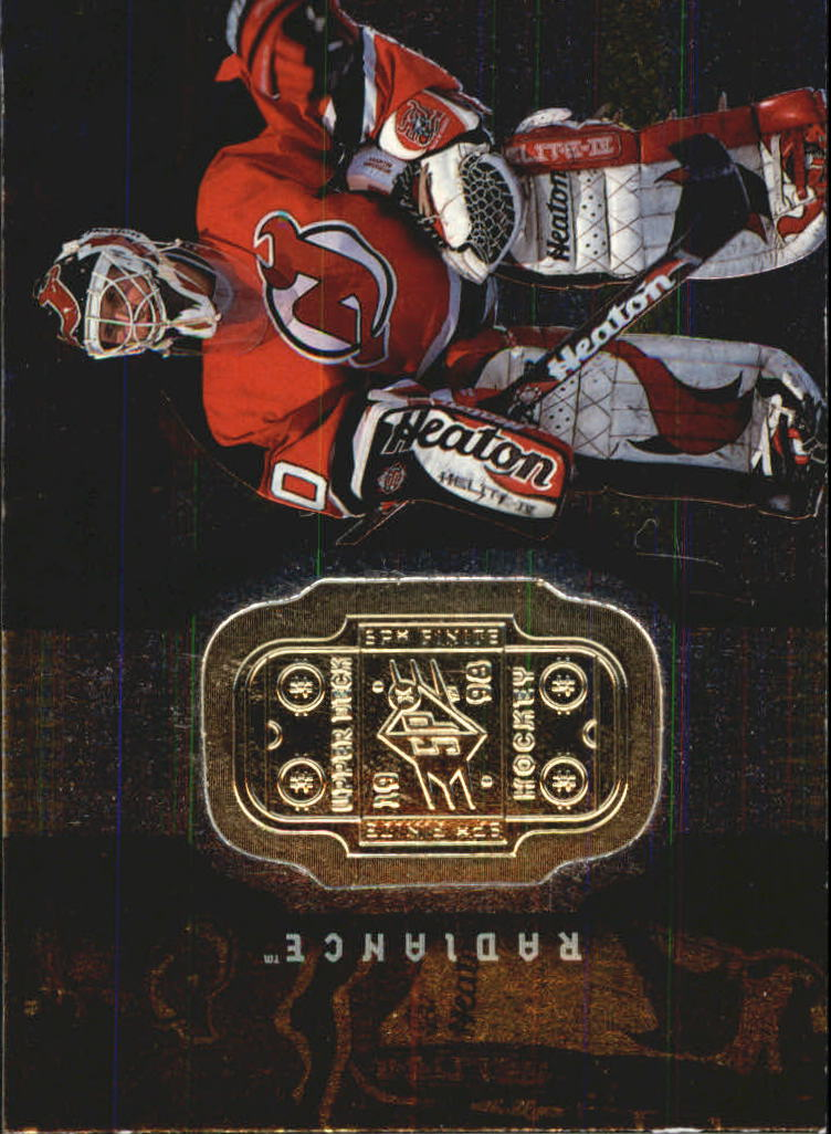 1998-99 SPx Finite Radiance #46 Martin Brodeur