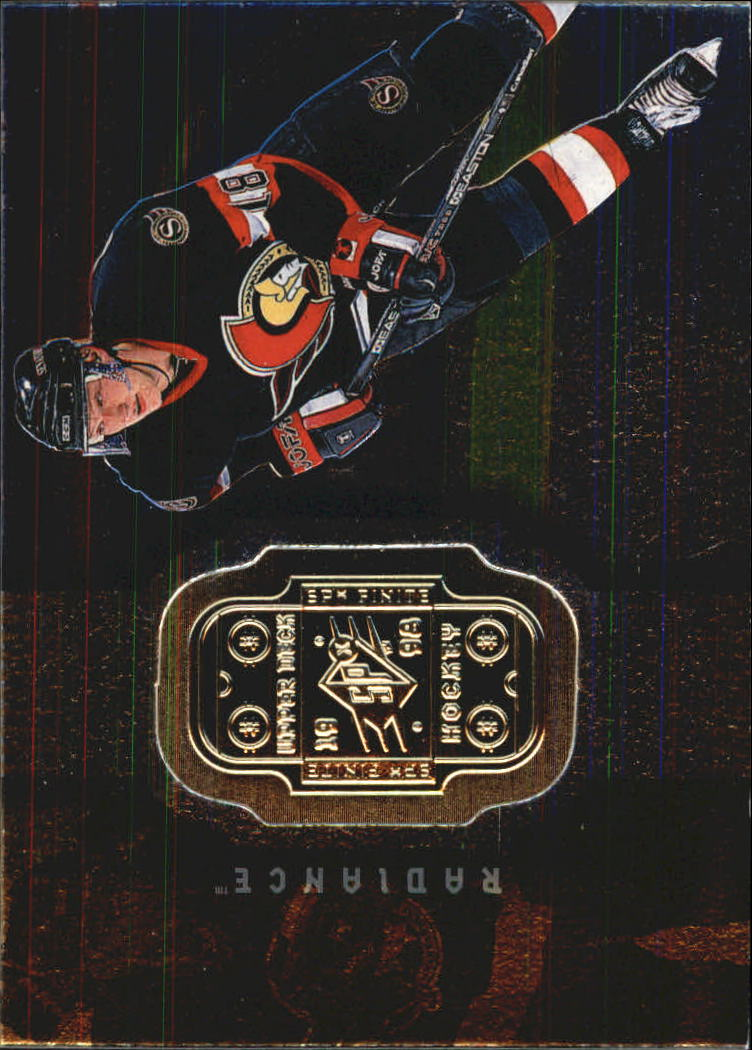 1998-99 SPx Finite Radiance #58 Marian Hossa