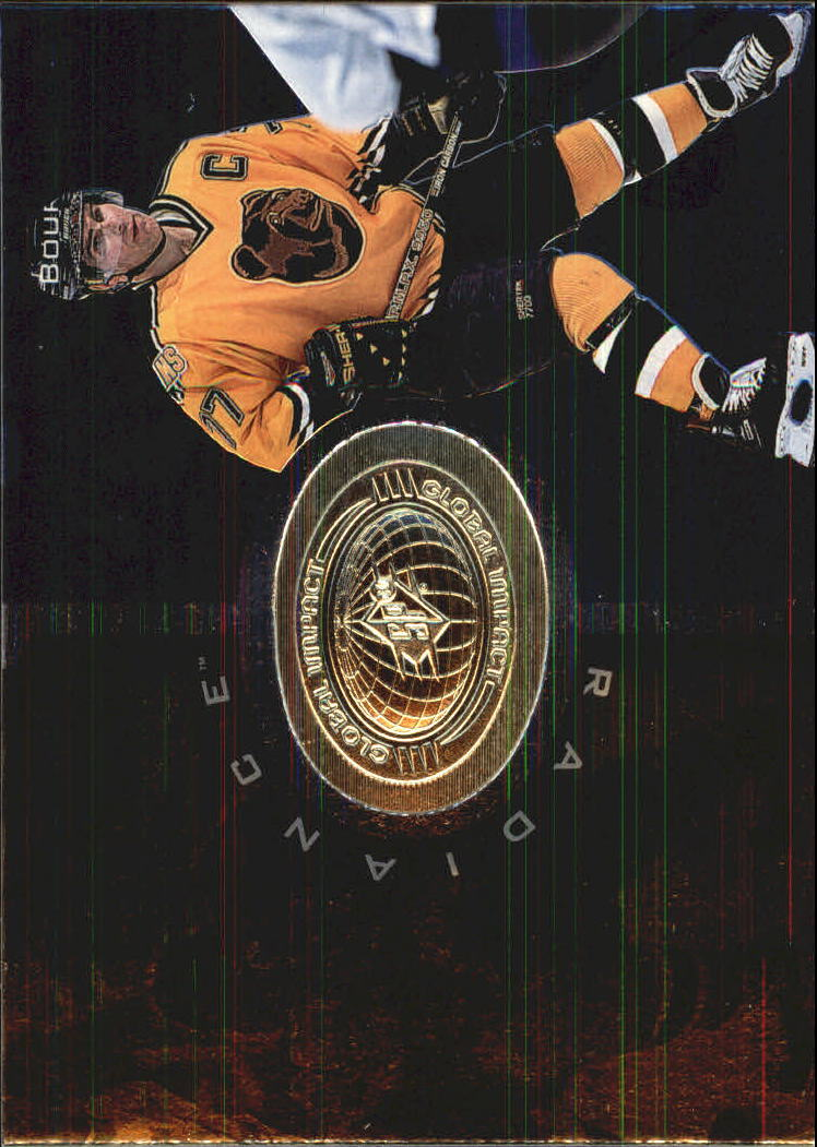 1998-99 SPx Finite Radiance #117 Ray Bourque GI