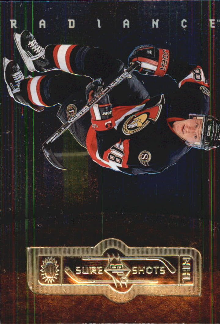 1998-99 SPx Finite Radiance #140 Marian Hossa SS