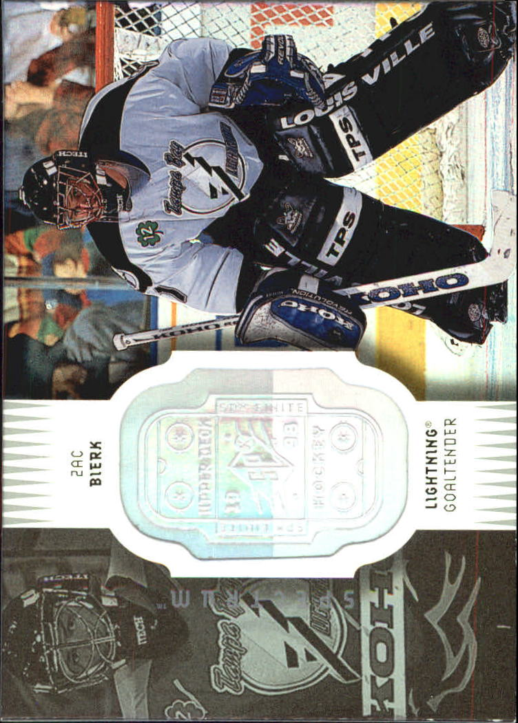 1998-99 SPx Finite Spectrum #79 Zac Bierk