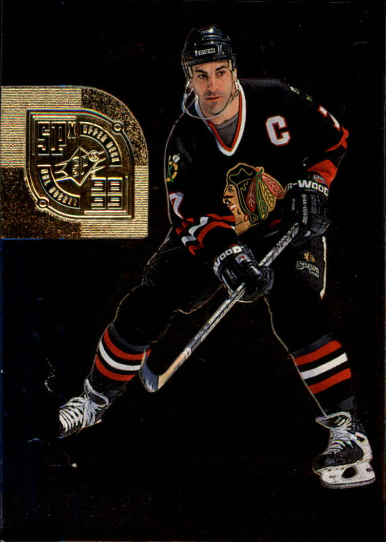 1998-99 SPx Top Prospects #12 Chris Chelios