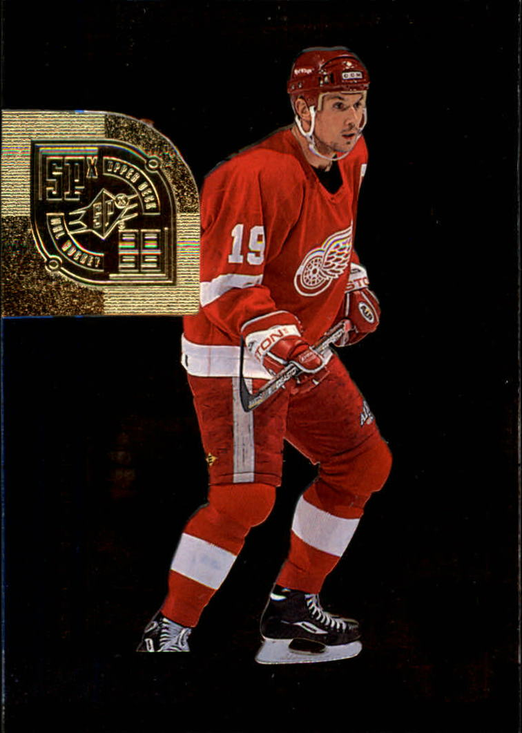 1998-99 SPx Top Prospects #21 Steve Yzerman