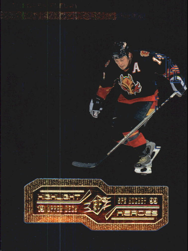 1998-99 SPx Top Prospects Highlight Heroes #H6 Theo Fleury