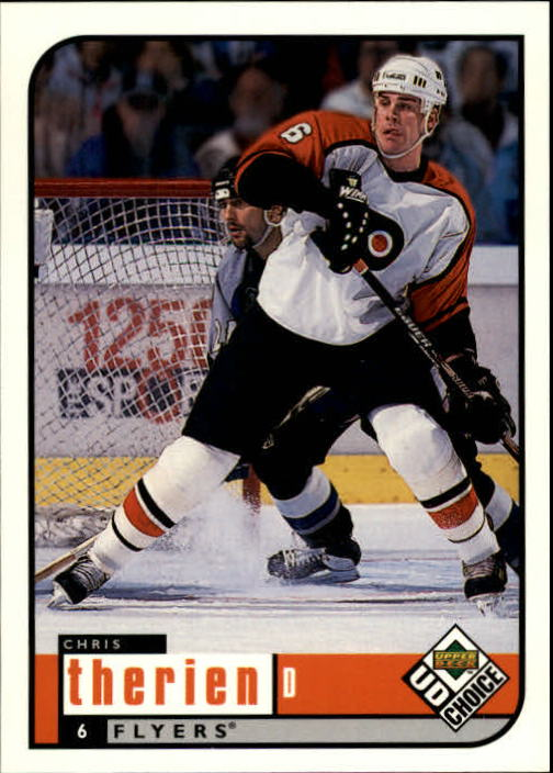 1998-99 UD Choice #154 Chris Therien