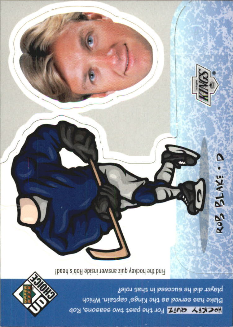 1998-99 UD Choice Mini Bobbing Head #BH20 Rob Blake