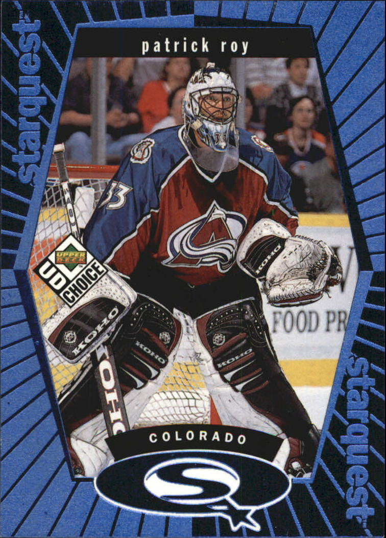 1998-99 UD Choice StarQuest Blue #SQ3 Patrick Roy