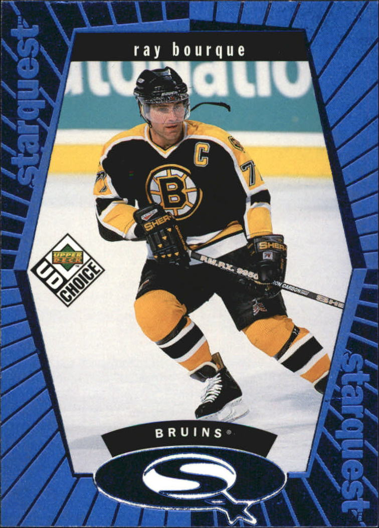 1998-99 UD Choice StarQuest Blue #SQ21 Ray Bourque
