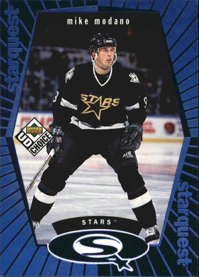 1998-99 UD Choice StarQuest Blue #SQ24 Mike Modano