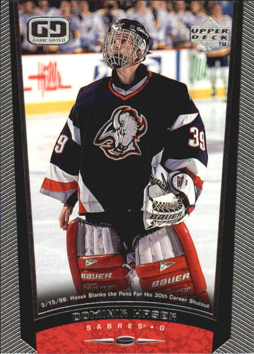 1998-99 Upper Deck #44 Dominik Hasek