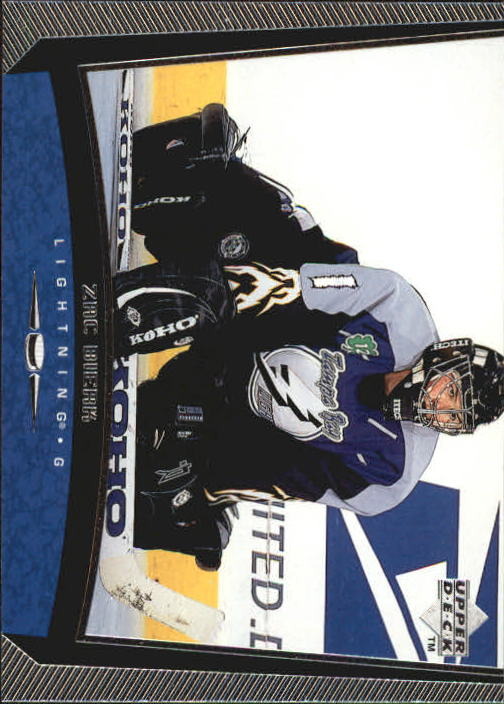 1998-99 Upper Deck #181 Zac Bierk RC