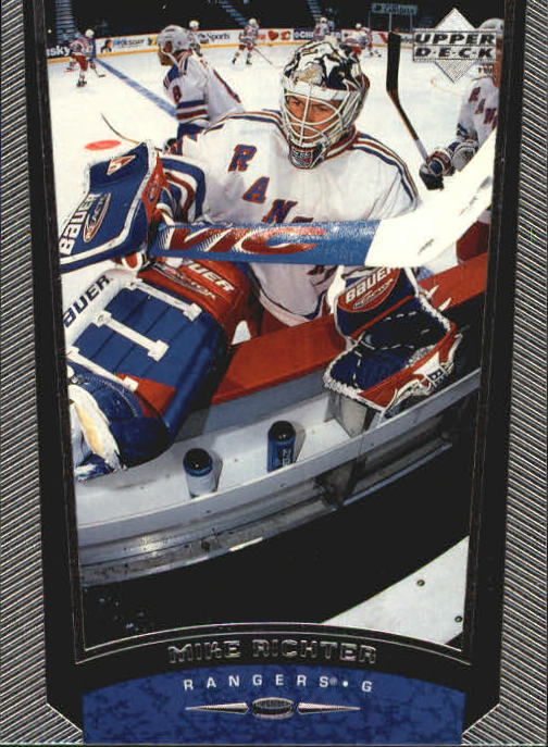 1998-99 Upper Deck #324 Mike Richter