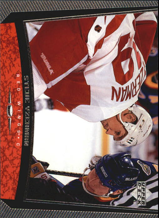 1998-99 Upper Deck #389 Steve Yzerman CL