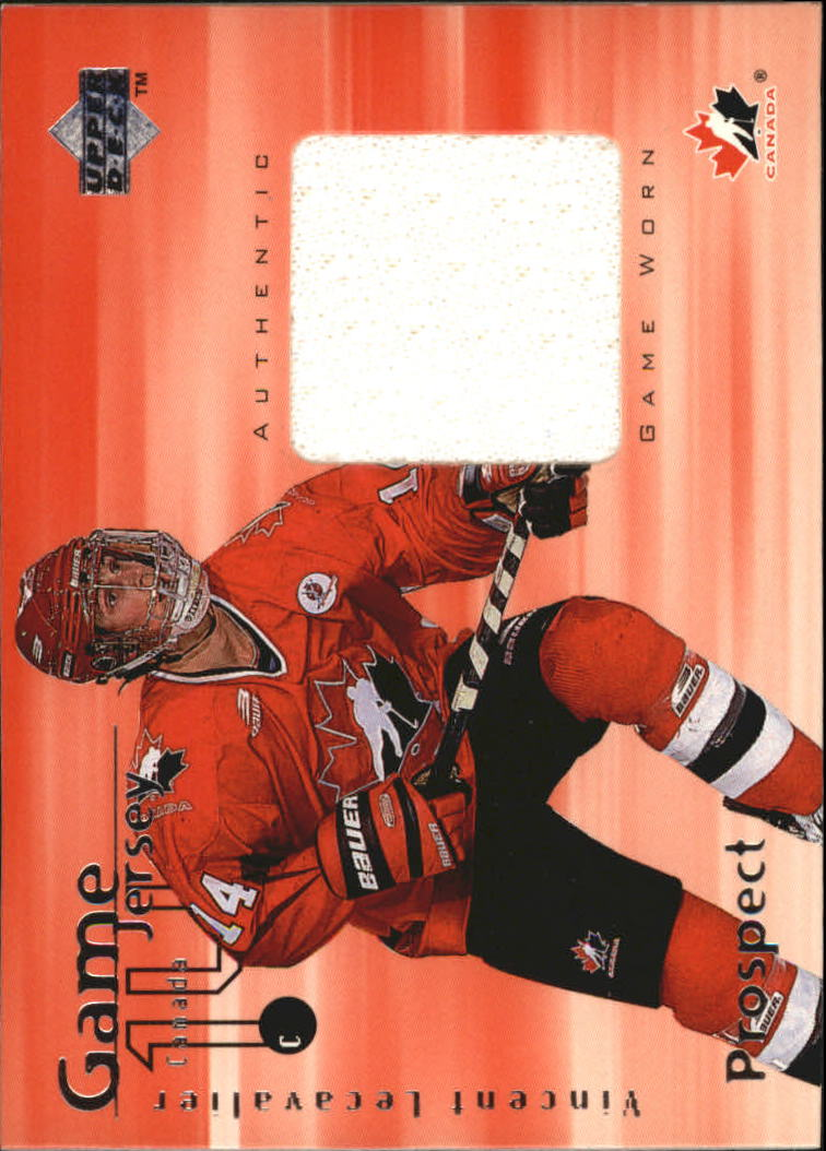 1998-99 Upper Deck Game Jerseys #GJ2 Vincent Lecavalier