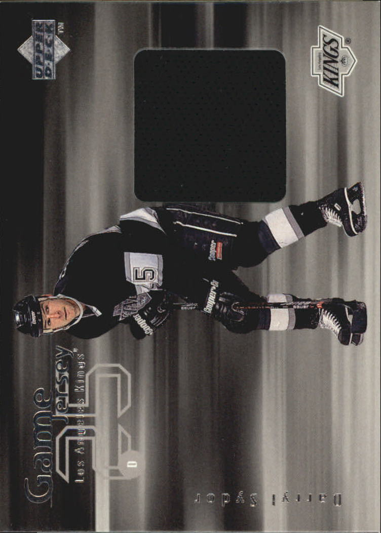 1998-99 Upper Deck Game Jerseys #GJ20 Darryl Sydor