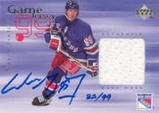 1998-99 Upper Deck Game Jerseys #GJA2 Wayne Gretzky AU/99