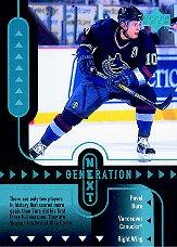 1998-99 Upper Deck Generation Next #GN28 Pavel Bure/Vadim Sharifijanov